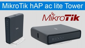 MikroTik hAP ac lite tower новый WiFiроутер