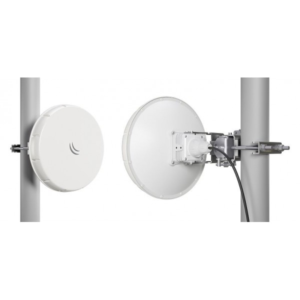 MikroTik nRAYG-60adpair | Radioline | Wireless Wire nRAY, 60GHz, 2Gb/s, 1x RJ45 1000Mb/s