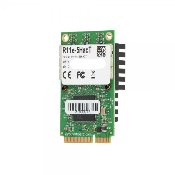 MikroTik R11e-5HacT | miniPCI-e Card | AC1300, 5GHz, 3x MMCX