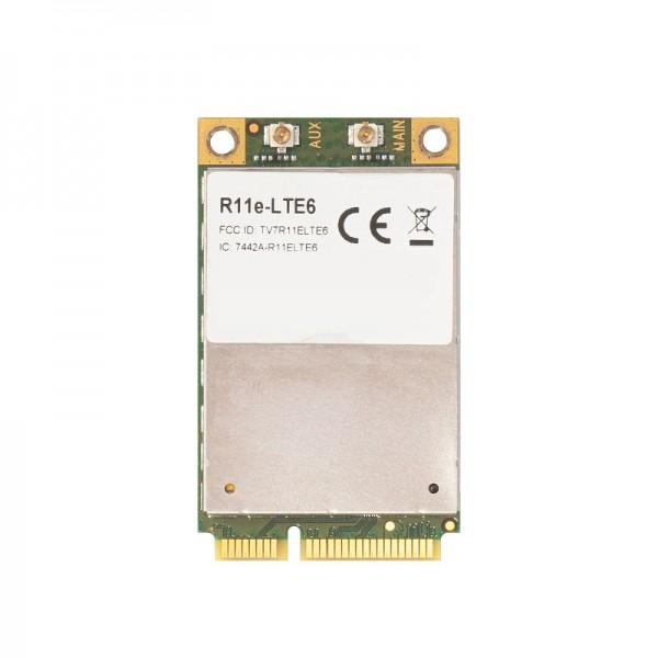 MikroTik R11e-LTE6 | miniPCI-e Card | 2G/3G/4G/LTE, 2x u.Fl