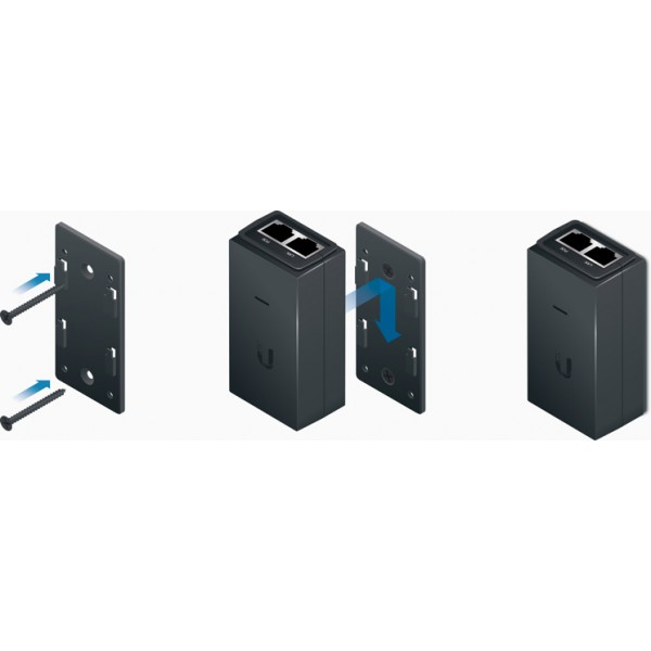 Ubiquiti POE-WM | Mounting kit | dedicated for wall mounting POE-24-12W and POE-24-12W-G power supplies