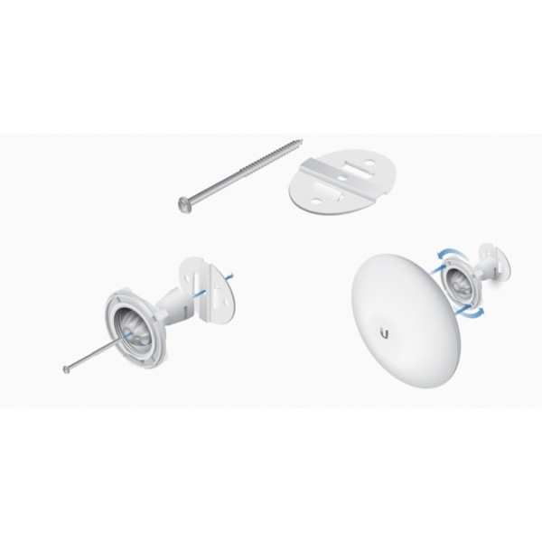 Ubiquiti NBE-WMK | Mounting kit | wall mounted, dedicated for NanoBeam series