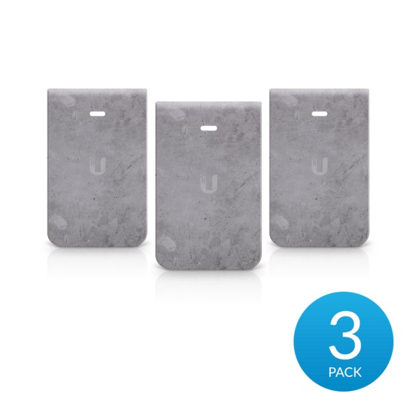 Ubiquiti IW-HD-CT-3 | Cover casing | for IW-HD In-Wall HD, concrete (3 pack)
