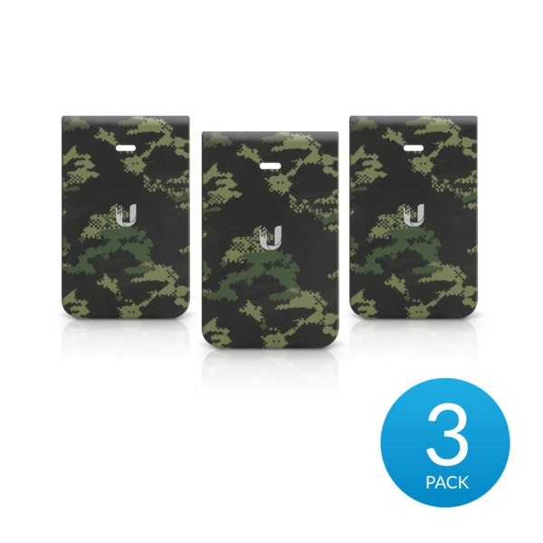 Ubiquiti IW-HD-CF-3 | Cover casing | for IW-HD In-Wall HD, camo (3 pack)