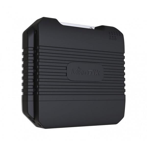 MikroTik LtAP LTE kit | LTE Router | RBLtAP-2HnD&R11e-LTE, LTE 150Mb/s, 2,4GHz, 1x RJ45 1000Mb/s, 2x miniPCI-e, 3x SIM, 1x USB