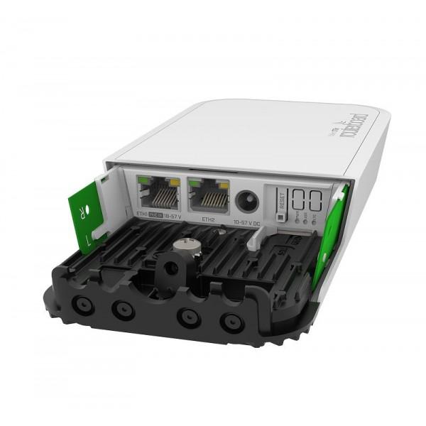 MikroTik wAP ac 4G kit | LTE Router | RBwAPGR-5HacD2HnD&R11e-4G, 4G 150Mb/s, AC1200, 2x RJ45 1000Mb/s, 1x miniPCI-e, 1x SIM