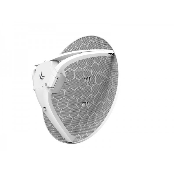 MikroTik RBLHGR | LTE Antenna | Without LTE card, 1x RJ45 100Mb/s, 1x SIM, 21dBi
