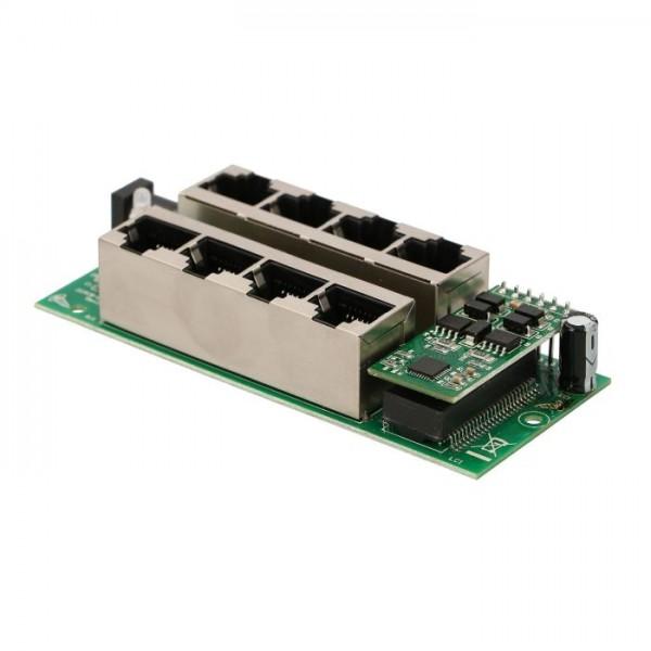 Активная гигабитная PoE панель Extralink  на 4 порта (802.3AT/AF mode A)