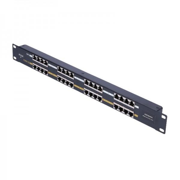 16-портовая  панель PoE инжектор POE16P