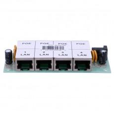 4-портовая PoE панель инжектор POE4P