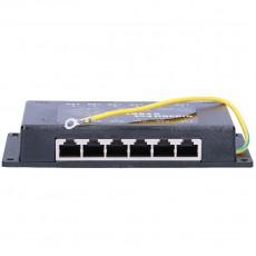 6-портовая гигабитная панель PoE инжектор POE6PG