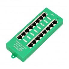 ExtraLink Гигабитная 8 портовая панель PoE инжектор