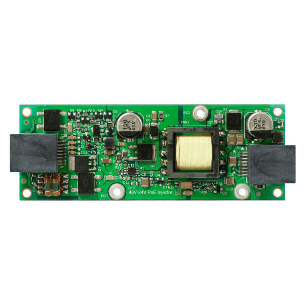 RBGPOE-CON-HP - конвертер PoE для MikroTik