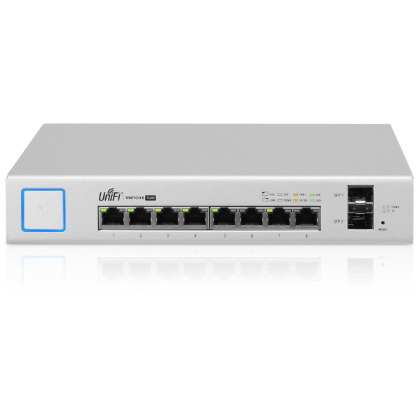 Ubiquiti UniFi Switch PoE 8 150W (US-8-150W)