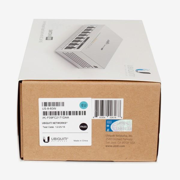 Ubiquiti Unifi Switch PoE 8 60W (US-8-60W) 5pack