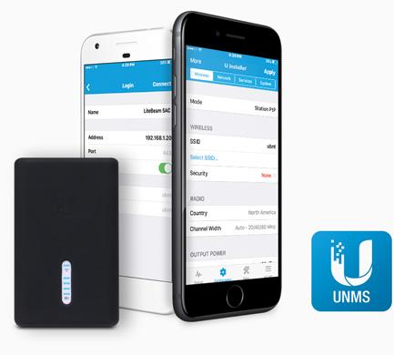 U-installer обеспечивает питание для подключенного оборудования по стандарту PoE